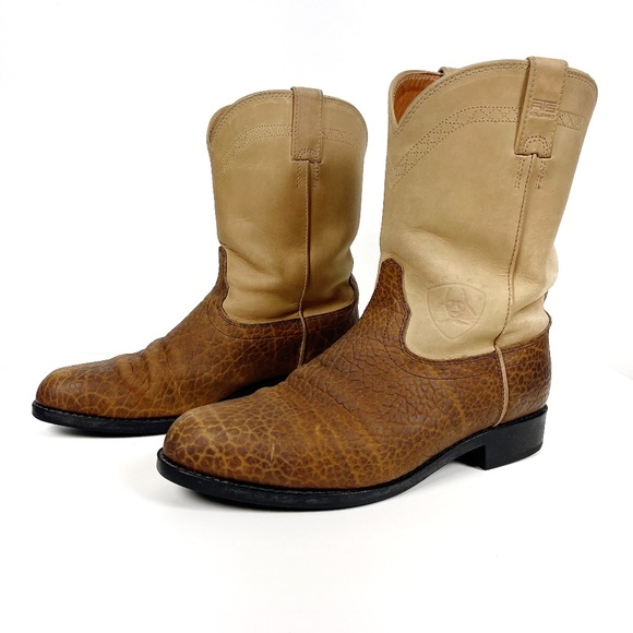 Men's Ariat Leather Western Boots Size 11